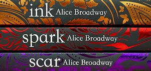 Image result for ink trilogy alice broadway